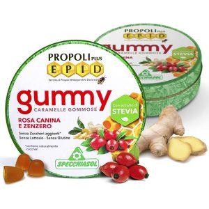 Szopogatós gumicukor - EPID® propolisz, csipkebogyó, gyömbér