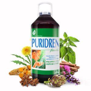 Natur Tanya® Puridren® koncentrátum – Sav-bázis egyensúly és méregtelenítés, 12 gyógynövény és klorofill erejével. 500ml