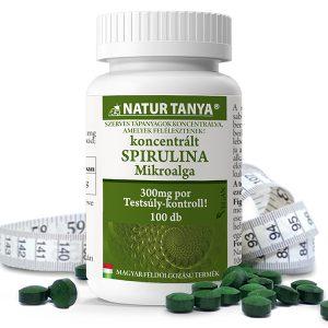 Natur Tanya® Szerves Spirulina tabletta - Sejtfal nélküli szerkezete tápanyagait sejtszinten adja át.