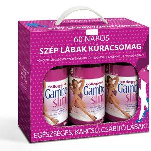 Natur Tanya® 60 napos  Gambe Slim® Szép lábak kúracsomag – Ivókúra a karcsú, narancsbőr mentes lábakért!