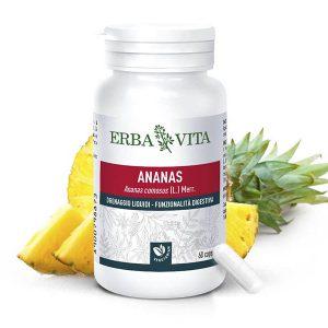 ErbaVita® Mikronizált Ananász kapszula Vcaps® tokban - extra bromelán enzim és 3 szabadalom!