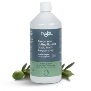 Najel Aleppoi Fekete szappan. Öko tisztítószer. Az összes szintetikus takarítószert kiválthatod vele!