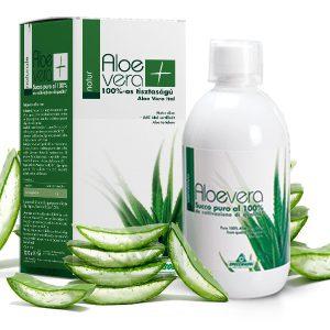 Specchiasol® Aloe Vera ital Natur - 8000 mg/liter acemannán tartalommal! IASC logó a dobozon.