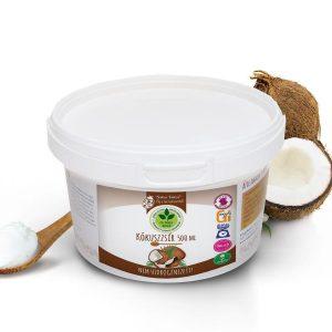 Dr. Natur étkek, Kókuszzsír. 100% szűrt, nem hidrogénezett, természetes, és többször is felhasználható. 500g