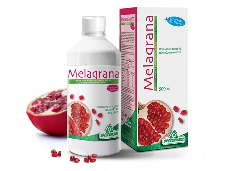 Specchiasol® 100%-os Gránátalma italkoncentrátum, szerves szelénnel