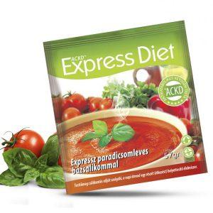 Natur Tanya® Expressz Diéta - Ínyenc paradicsomleves bazsalikommal. Zsírégető Antikatabolikus ketogén étel.