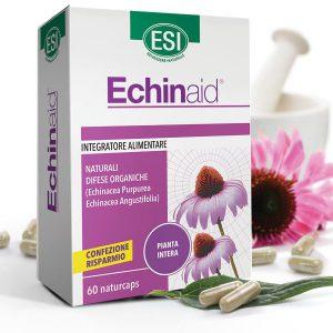 ESI Echinaid® Echinacea, kasvirág koncentrátum 60 db - 2 féle Echinaceából, 4 féle növényi részből. Standardizált étrend-kiegészítő, fermentált növényi kapszulatokban