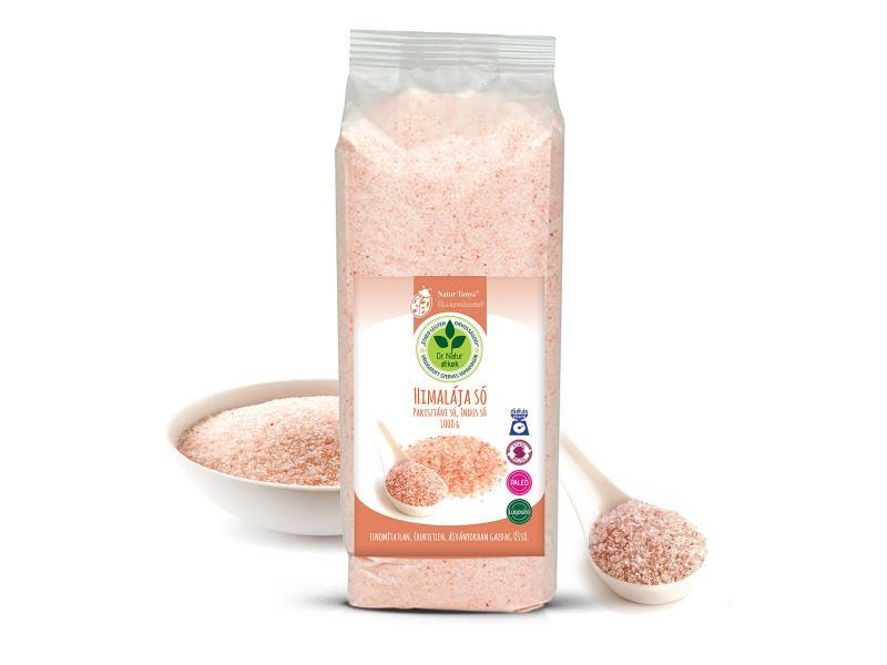 Dr. Natur étkek, Himalája só (Pakisztáni só, Indus só) Vegyszer- és adalékanyag-mentes. Kívül- Belül, 1kg