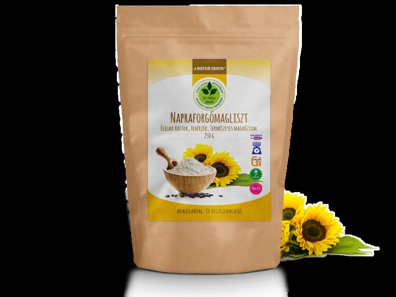 Natur Tanya® Dr. Natur étkek Napraforgómagliszt 250g