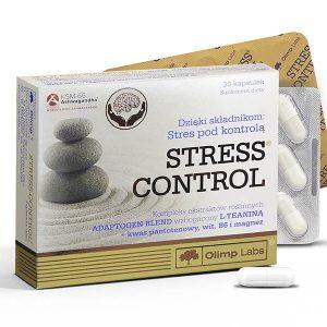 Olimp Labs® Stress control kapszula - Nem szedál le, nem álmosít, mellékhatás nélkül hoz egyensúlyba.