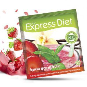 Natur Tanya® Expressz Diéta - Epres smoothie élményekkel meghintve. Zsírégető Antikatabolikus ketogén étel.