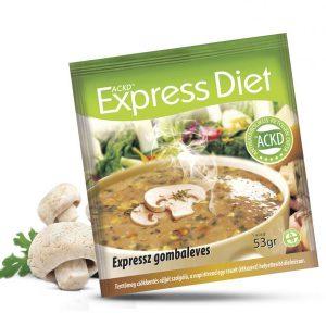 Natur Tanya® Expressz Diéta - Friss gombaleves érett ízvilágban. Zsírégető Antikatabolikus ketogén ételel.