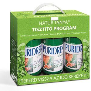 Natur Tanya® 60 napos Tisztító Program – A sav-bázis egyensúlyhoz, és a salakanyagok kivezetéséhez