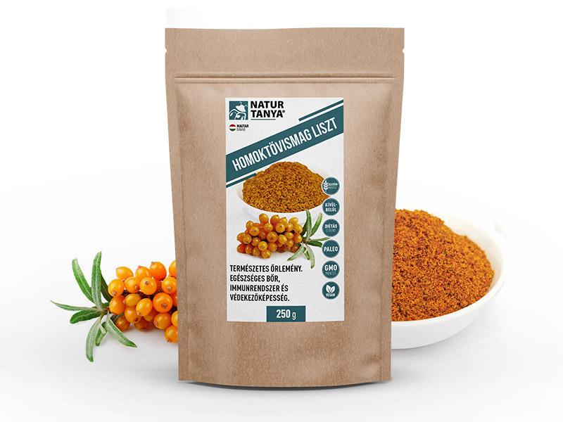 Dr. Natur étkek, Homoktövismag -liszt - antioxidáns, vitamin,nyomelem, ballasztanyag és rostforrás!