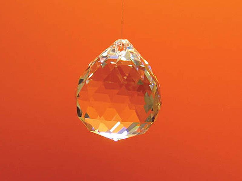 Feng Shui szivárványkristály közép gömb - 30 mm