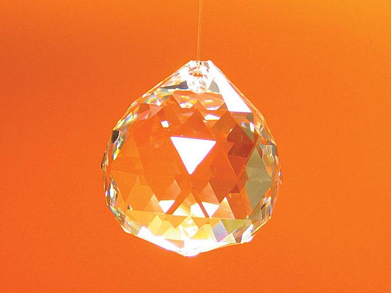 Feng Shui szivárványkristály nagy gömb - 40 mm