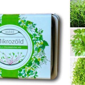 Zöldfűszer ültetőcsomag mikrofűszerek növesztéséhez