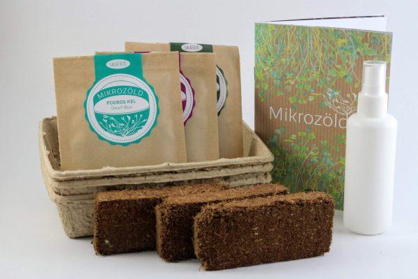 Mikrozöld ültetőcsomag – FODROS KEL MIX