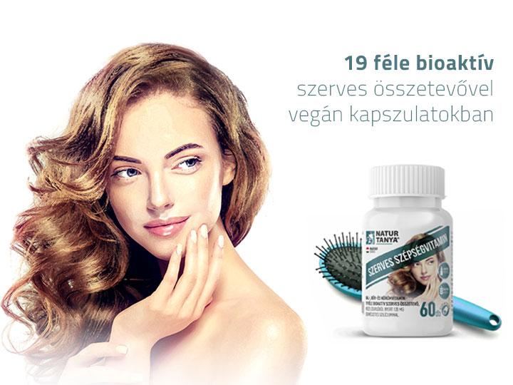 Natur Tanya® Szerves Szépségvitamin